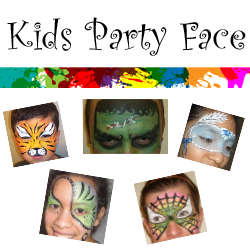 Kids Party Face