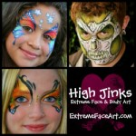 High Jinks Extreme Face & Body Art